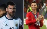 Messi, Ronaldo và sự tương phản ở đội tuyển quốc gia