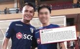 Hé lộ danh tính 'người anh' của Quang Hải trong tin nhắn bị hack