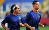 Ronaldo, Messi có tên trong đội hình đồng đội xuất sắc nhất của Tevez
