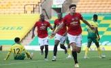 Maguire ghi 'bàn thắng vàng', Man Utd chật vật thoát hiểm trước Norwich