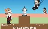 Cười vỡ bụng với loạt ảnh chế tứ kết FA Cup