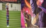Hóa thân Thanos, Messi vẫn không cứu nổi Barca