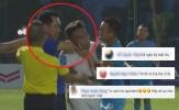 NHM lên án hành động bạo lực của HLV Phố Hiến với cầu thủ An Giang