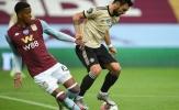 10 thống kê ấn tượng của 'siêu nhân' Bruno Fernandes trước Aston Villa
