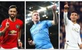 Top 10 tiền vệ đỉnh nhất châu Âu 2019/2020