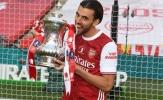 Vô địch FA Cup, Ceballos công khai 'yêu sách' gửi đến Real
