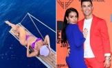 """Bạn gái của Ronaldo khoe thân hình """"bỏng mắt"""" trên du thuyền hạng sang"""