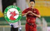 Đua tranh thăng hạng, Bình Định quyết định mượn cựu sao U23 Việt Nam