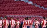 Đã rõ 2 cầu thủ nhiễm COVID-19 của Atletico Madrid