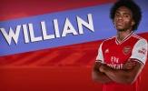 HLV Mikel Arteta lên kế hoạch sử dụng Willian ở vị trí mới