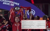 Vô địch Ngoại hạng Anh, The Kop vẫn bị 'troll' ở đề thi THPT 2020