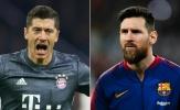Đội hình kết hợp Barca - Bayern do fan bình chọn
