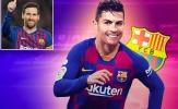 """Jorge Mendes """"chào hàng"""" Ronaldo với Barcelona"""