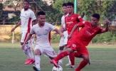 U22 Việt Nam cầm hòa Viettel trong trận đấu có 4 bàn thắng