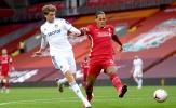 Thống kê trận Liverpool 4-3 Leeds United: 'Báo động' Virgil Van Dijk