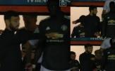 Bruno tỉ tê với Bailly trong đường hầm, chỉ ra điều cần thực hiện ở hiệp 2 trận Luton