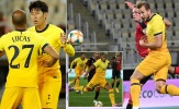 Son Heung-min lại bùng nổ đưa Tottenham đi tiếp ở Europa League