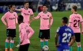 Real gọi, Barcelona trả lời với trận thua bạc nhược trước Getafe