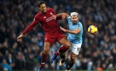 Những con số u ám chống lại Liverpool khi mất Van Dijk