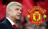 Được Man United liên hệ, Wenger lập tức có câu trả lời