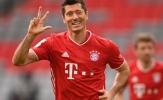 Lewandowski lập hat-trick, Sane hóa Robben, Bayern hành hạ đối thủ 5-0
