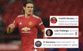 Cavani ra mắt Man Utd, CĐV ngao ngán, so sánh với Lukaku và Ighalo