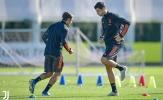 Lộ hình ảnh mới nhất, rõ khả năng Ronaldo cùng Juve đối đầu Barca