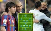 Đội hình kết hợp mọi thời đại của Pep Guardiola - Jose Mourinho: 11 'cực phẩm'