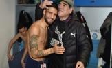 'Truyền nhân' Maradona tại Napoli khóc thương trước sự ra đi của huyền thoại