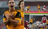 Thủ tệ hại, Arsenal nếm trái đắng trước Wolves tại 'sào huyệt' Emirates