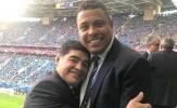 Ronaldo lý giải thói quen đeo 2 chiếc đồng hồ của Maradona