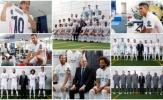 Cận cảnh dàn sao Real rạng rỡ chụp hình lưu niệm mùa 2020/21