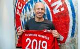 Bayern Munich trói chân Arjen Robben đến năm 2019