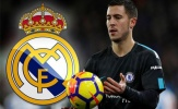 NÓNG: Hazard làm rõ khả năng rời Chelsea, gia nhập Real Madrid