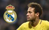 NÓNG: Trang chủ Real Madrid ra thông báo CHÍNH THỨC vụ Neymar