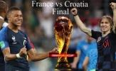 Chung kết World Cup 2018: Sự tương phản giữa Pháp và Croatia