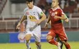 HAGL mong trận hòa trên sân đội xếp áp chót Nam Định