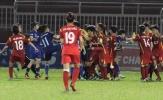 Diễn biến mới nhất vụ cầu thủ nữ đánh nhau trên sân Thống Nhất