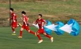 ĐT Việt Nam tập luyện bài độc và dị chuẩn bị cho AFF Cup 2018