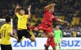 ESPN: 'Malaysia sẽ hài lòng nếu hòa Việt Nam'
