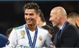 Zidane đã về lại Real nhưng đây là kỷ nguyên không Ronaldo