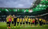 Aubameyang & Reus thay nhau lập công, Dortmund thắng kịch tính Gladbach