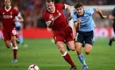 Chùm ảnh: Huyền thoại trở lại, Liverpool dễ dàng đè bẹp Sydney FC