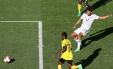Chùm ảnh: U20 Đức suýt ôm hận trước 'nhược tiểu' U20 Vanuatu