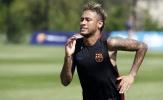 Giữa bão tin đồn, Neymar vẫn tập luyện hết mình tại Barcelona