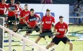 Atletico miệt mài rèn quân trước ngày mở màn La Liga