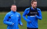Bầu không khí u ám bao trùm cả sân tập của Everton