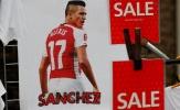 Áo in hình Sanchez bị rao bán với giá rẻ mạt trước giờ G
