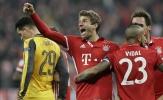 Bayern Munich giễu cợt Arsenal sau chiến thắng hủy diệt