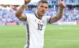 """'Tschö, Poldi!"""" - Tạm biệt Hoàng tử của Die Mannschaft"""